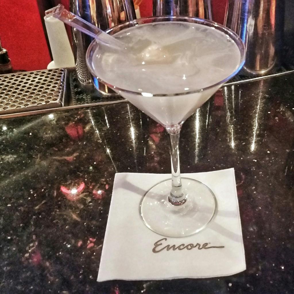 Lychee Martini @ The Encore
