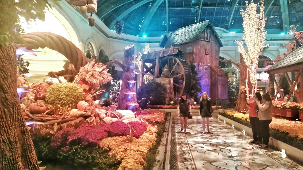 Ready for Fall Display at the Bellagio