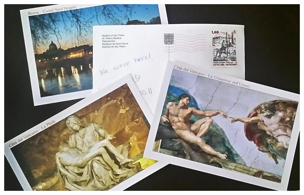 postcards.italyW