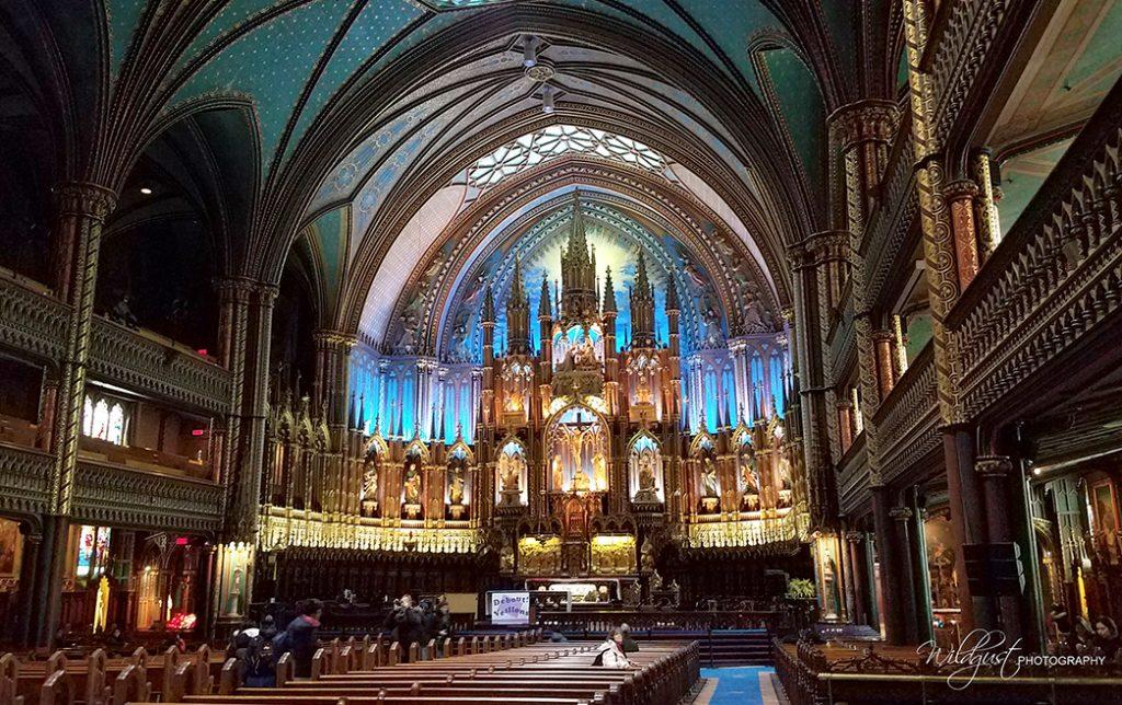 NotreDameBasilica.Montreal.inside
