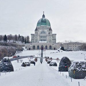 St. Joseph Oratory, Montreal, Canada -winter