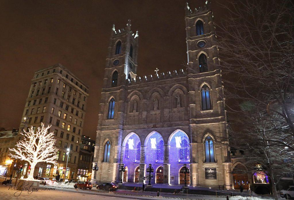 NotreDameBasilica.Montreal.Canada.outside