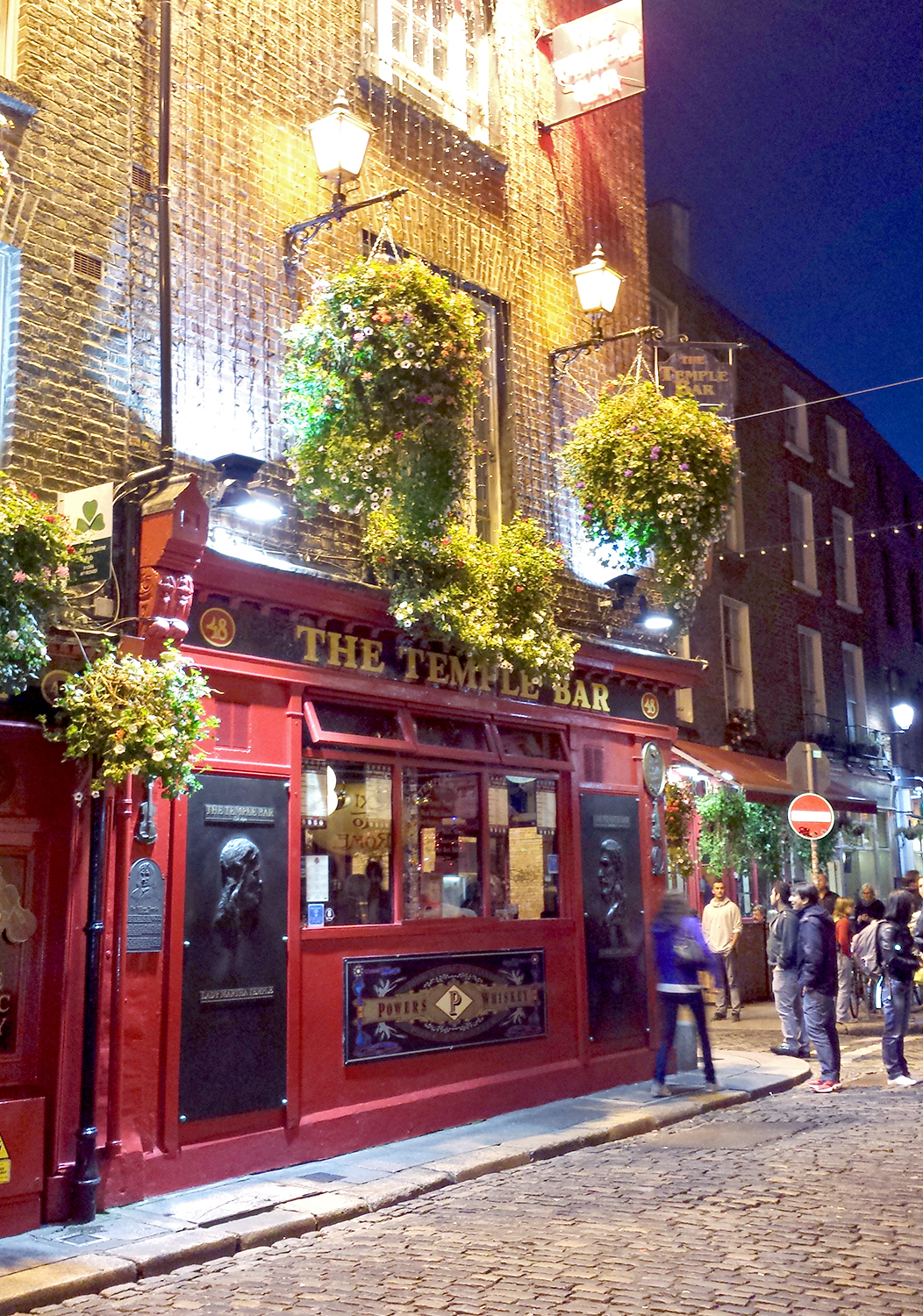 2014-09-02 Temple Bar. Dublin, Ireland