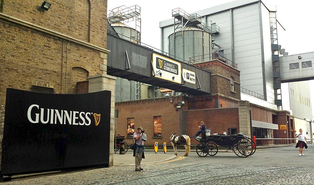 St. James Gates, Guinness Brewery. Dublin-Ireland
