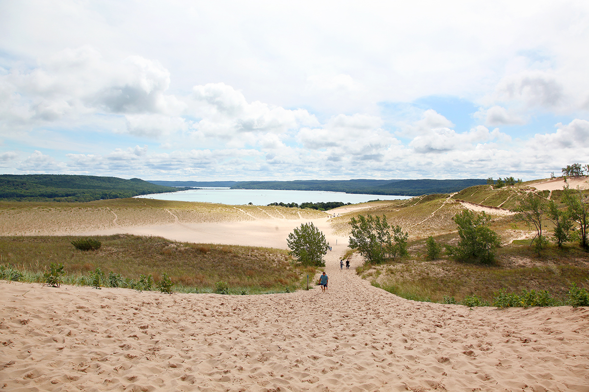 USA.Michigan.SleepingbearNP.Sand.Dunes