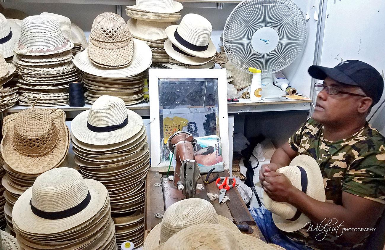 Cuba Hat Maker. ChasingWildgusts.