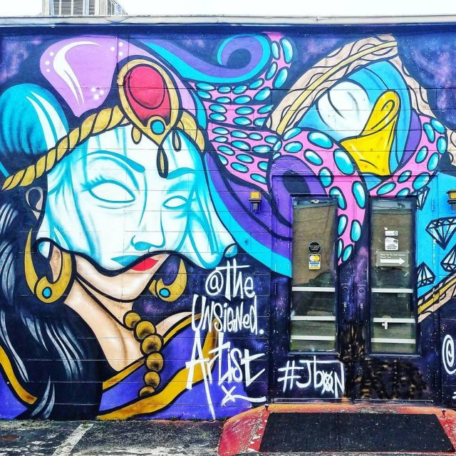 Awesome Art Friday Such a badass mural by Orlando artisthellip